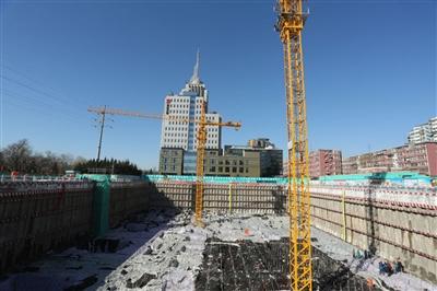 东城塔吊基础钢筋图